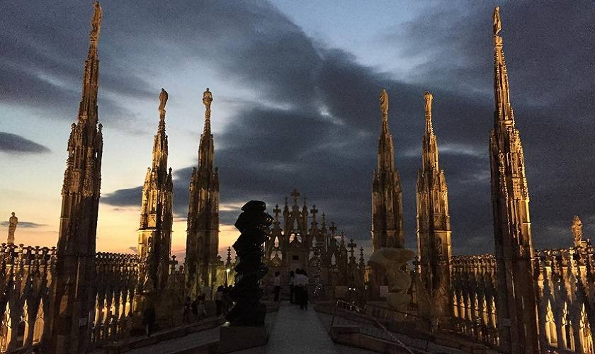 MILANO DALLE TERRAZZE DEL DUOMO - Visite guidate a Milano